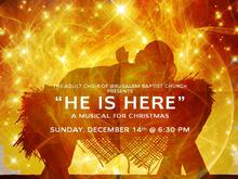 """He is Here"" Adult Choir Cantata"